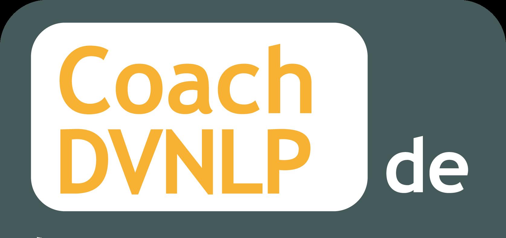Eingetragen in die Coach-Datenbank des DVNLP